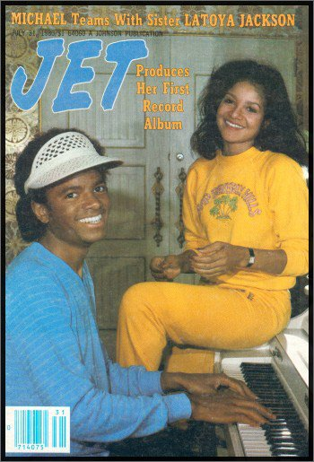1980 JET cover with LaToya