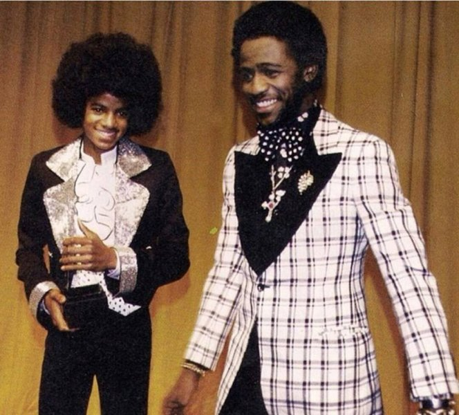 Al Green and MJ.