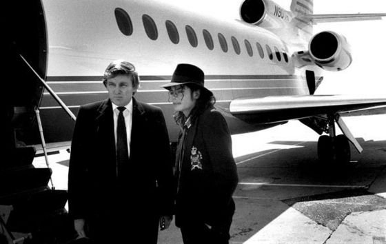 Donald Trump and Michael
