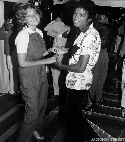 MJ with Tatum O'Neal in 1979