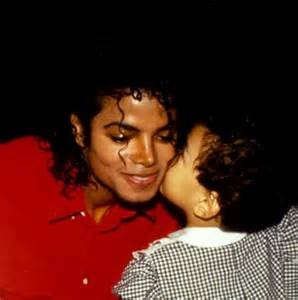 Michael getting a kiss