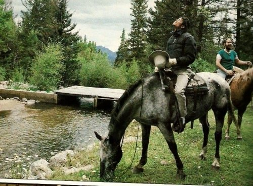 Michael horseback riding
