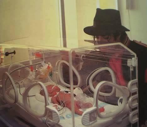 Michael visits a premie newborn