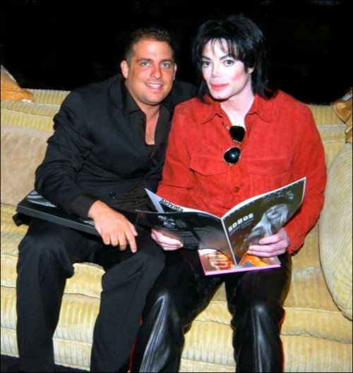 Michael with Brett Ratner