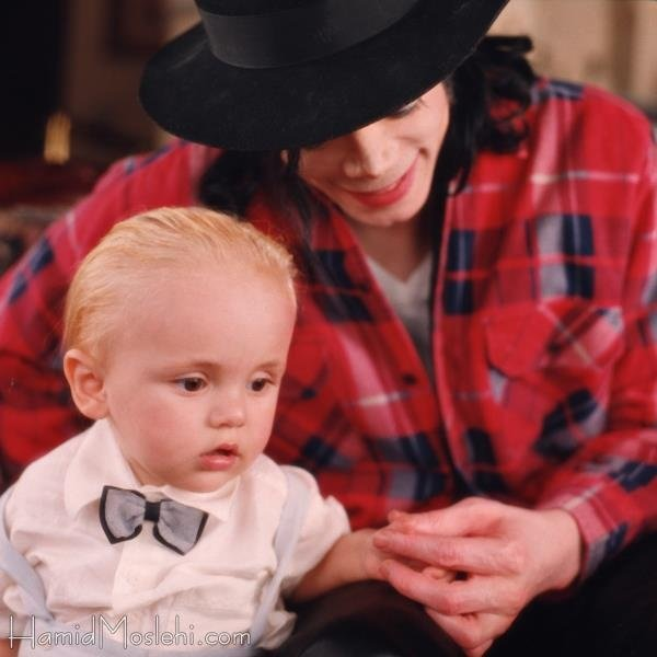 Michael with Prince