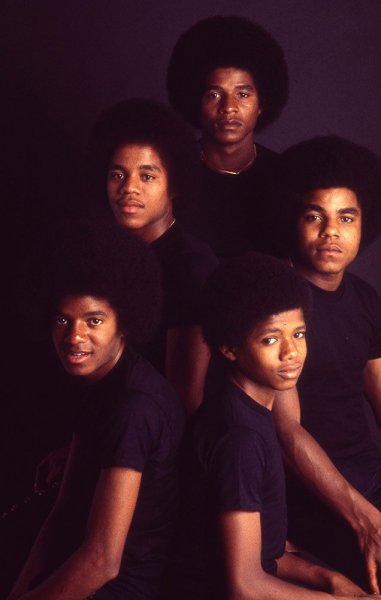The Jacksons (with young Randy)