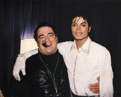 Michael with Frank Dileo
