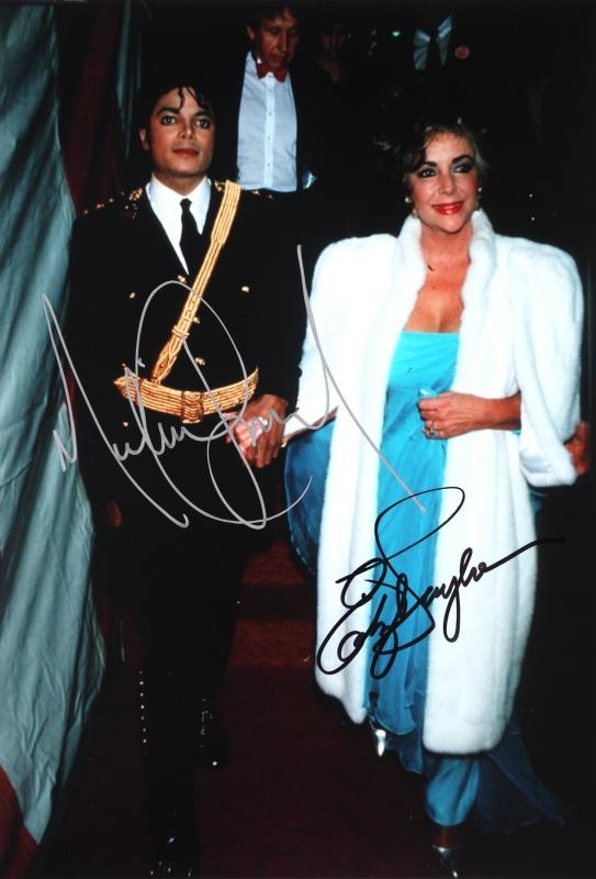 Michael and Elizabeth Taylor