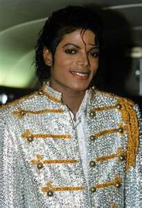 Michael during Victory tour
