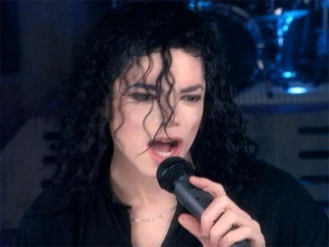 Michael - Give In To Me shoot