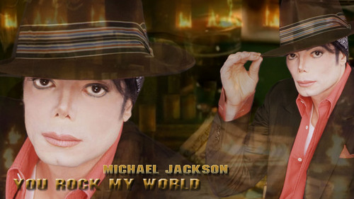 Michael - You Rock My World shoot