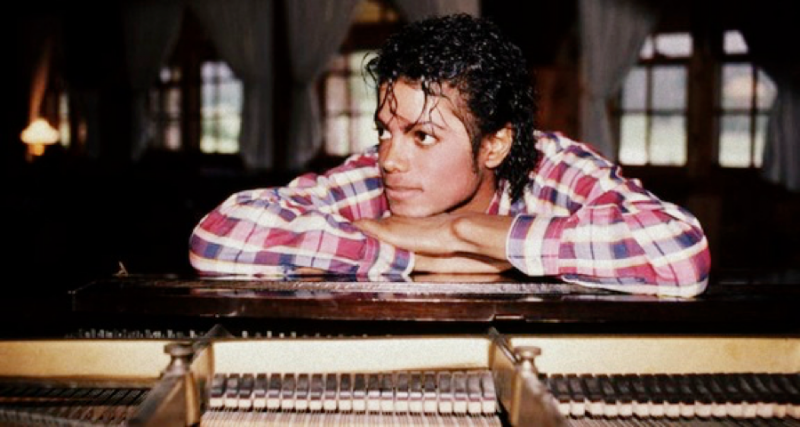 michael listening to piano
