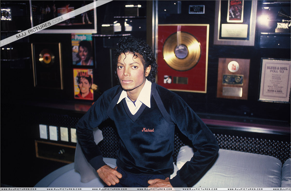 michael-with-albums