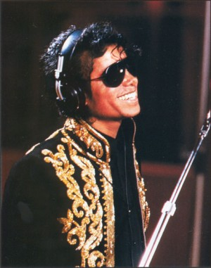 Michael - We Are The World shoot