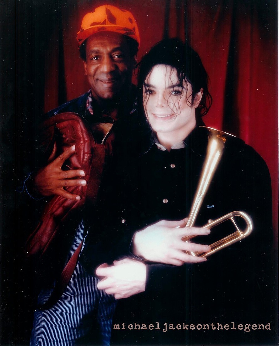 Michael Jackson and Bill Cosby