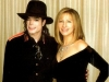 Michael with Barbra Streisand