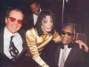 MJ Jack Nicholson and Ray Charles