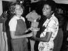 MJ with Tatum O'Neal in 1979