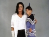 Michael behind the scene - Black or White