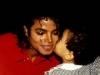 Michael getting a kiss