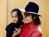 Michael holding a little girl