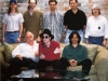 Michael with recording studio staff