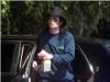 Michael Jackson running errands