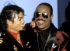 Michael and Stevie Wonder