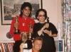 Michael with Oona Chaplin