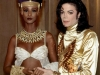Michael with Iman