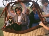 Michael taking a hot balloon ride in Neverland