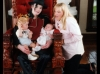 Michael, Prince, Paris and Debbie Rowe