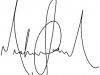 Michael\'s signature