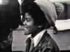young Michael in hat