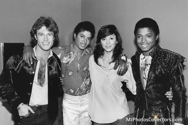 Andy Gibb Victoria Principal Randy and Michael