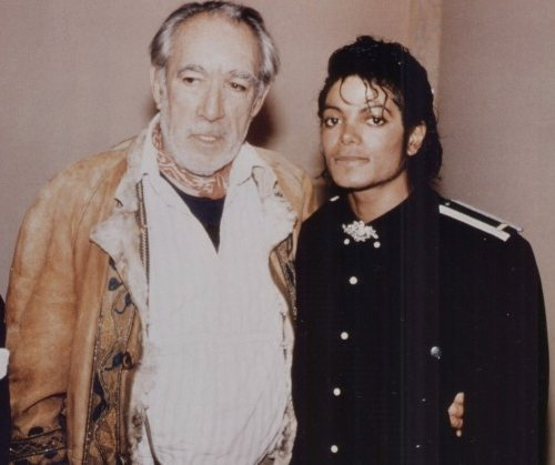 Anthony Quinn and Michael.jpg