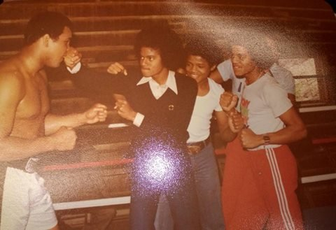MJ with Muhammad Ali