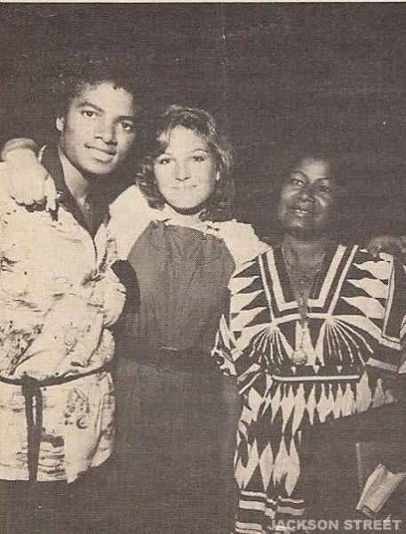 MJ with Tatum O'Neal and Katherine