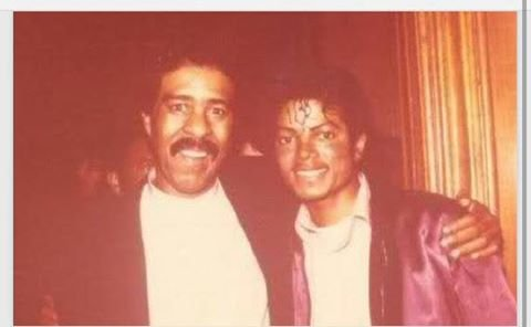 Michael with Richard Pryor