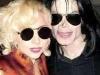 Michael with Lady GaGa