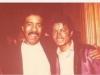 Michael with Richard Pryor
