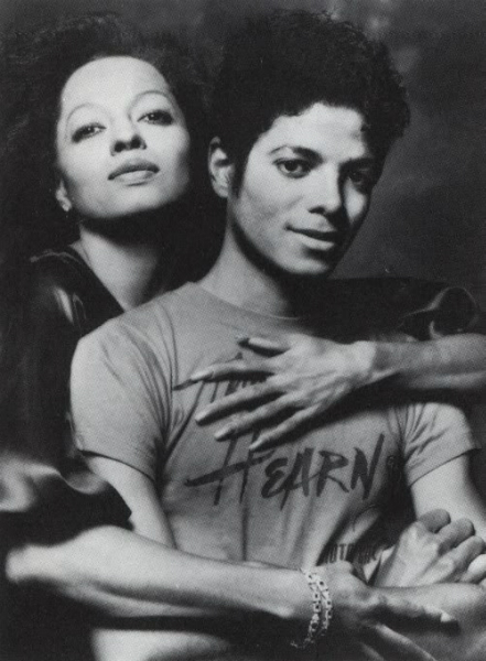 Michael and Diana Ross