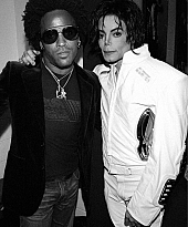 Michael and Lenny Kravitz
