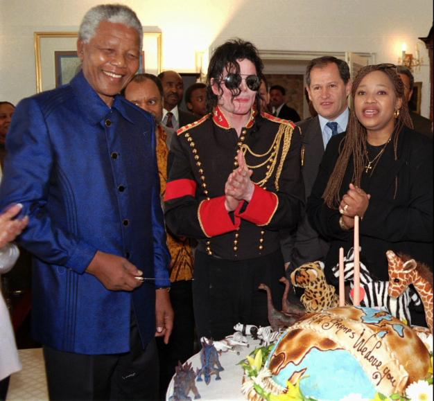 Michael and Mandela
