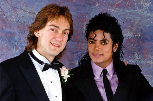 Michael at John Branca's wedding