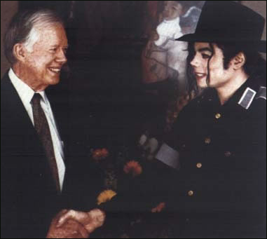 michael-jackson-and-president-jimmy-carter