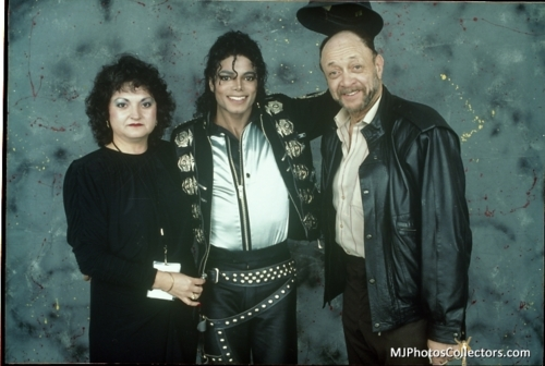 michael-with-bill-bray and Suzanne dePasse