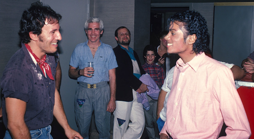 michael-with-bruce-springsteen_0