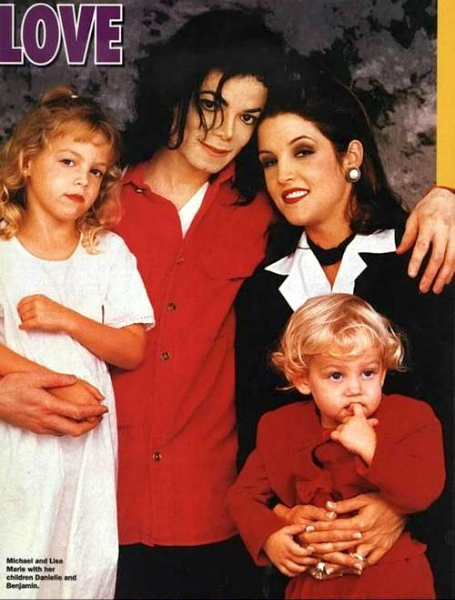 michael-with-lisa-marie-and-her-kids