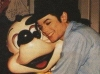 Michael and Mickey Mouse